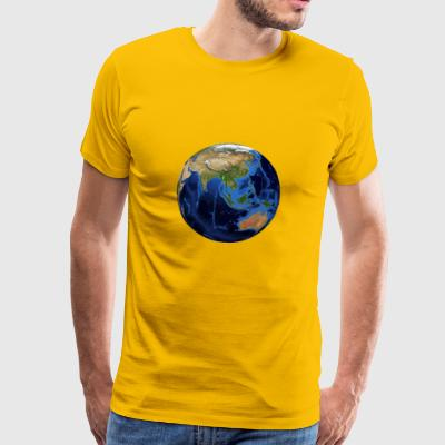 Planet earth - Mannen Premium T-shirt