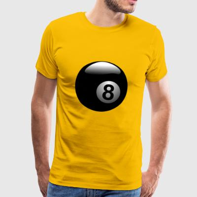 pool billards billiards snooker queue ball sport19 - Men's Premium T-Shirt
