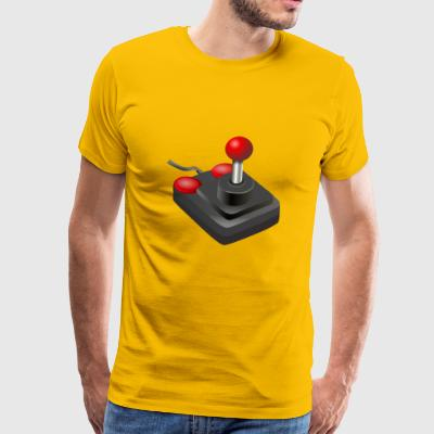 joystick gamepad - Men's Premium T-Shirt