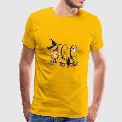 Halloween Boo To You - Männer Premium T-Shirt