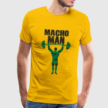 macho Man - Premium-T-shirt herr