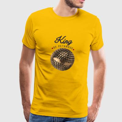 king of petanque - T-shirt Premium Homme