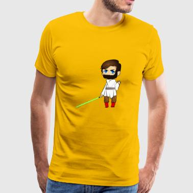 Obii Won - Men's Premium T-Shirt