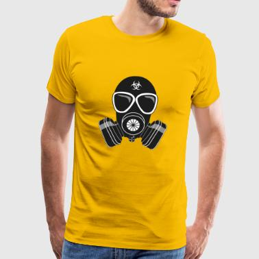 Gas mask type Slav-24 - Men's Premium T-Shirt