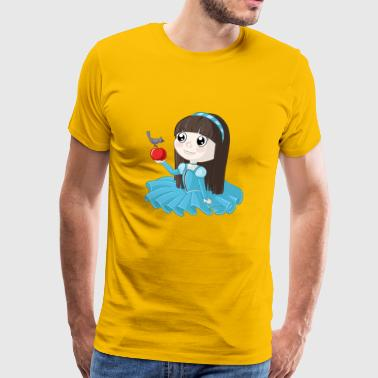 Sneeuwwitje cartoon - Mannen Premium T-shirt