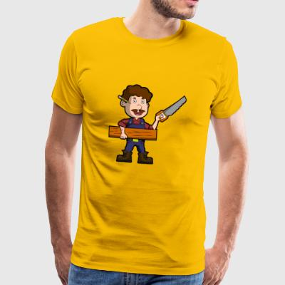 carpenter joiner carpenter joiner - Men's Premium T-Shirt