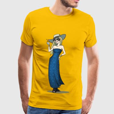 Amélie on vacation - Men's Premium T-Shirt