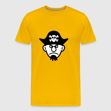 pirate ship boat pirate pirate ship ship skull8 - Men's Premium T-Shirt