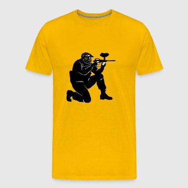 Gotcha paintball2 - T-shirt Premium Homme