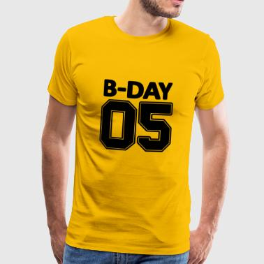 Number 05 Number / 5th birthday / 5 years old - Men's Premium T-Shirt