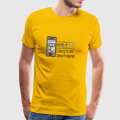 (app)solution - Männer Premium T-Shirt