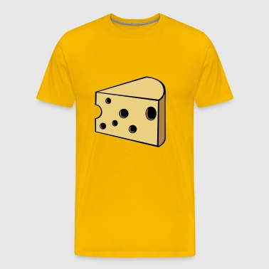 cheese - Men's Premium T-Shirt