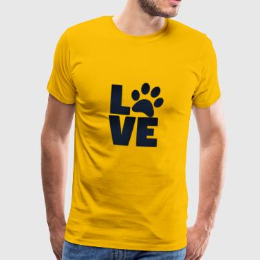 amour Animaux - T-shirt Premium Homme