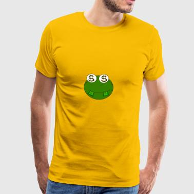 Money Frog - Männer Premium T-Shirt