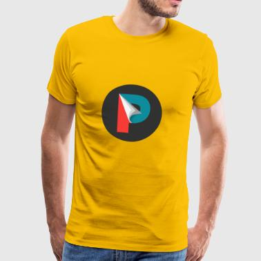 P for Strøm - Herre premium T-shirt