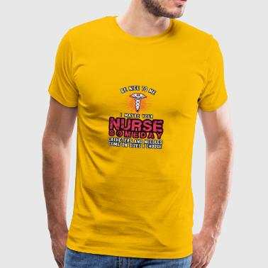 Nurse someday - Men's Premium T-Shirt