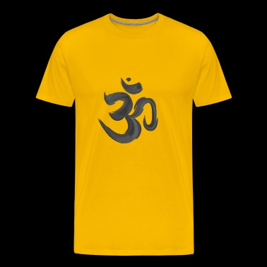 Yoga Om Meditation Gift Hindu Buddhist children - Men's Premium T-Shirt