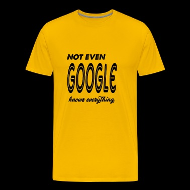 google - Men's Premium T-Shirt