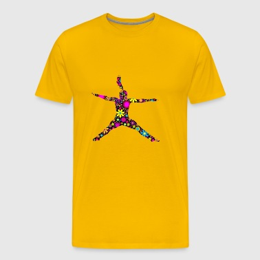 high jump jumping jump jump ballerina6 - Men's Premium T-Shirt