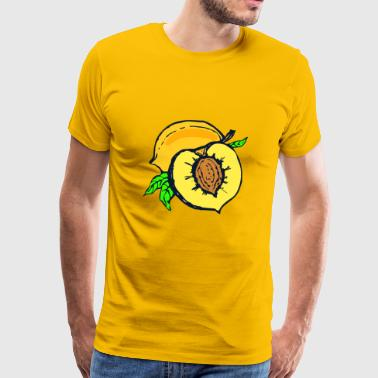 apricots apricot veggie vegetables fruits8 - Men's Premium T-Shirt