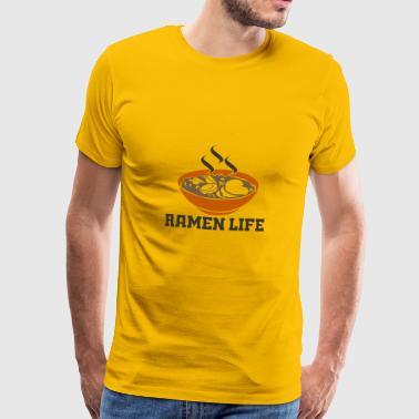 Ramen is life! - Gift - Men's Premium T-Shirt