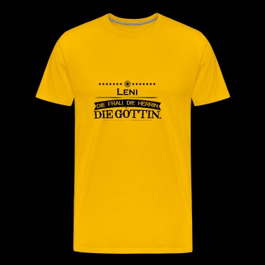 birthday goettin Leni - Men's Premium T-Shirt