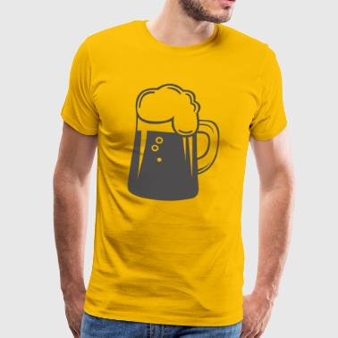 BEER KRUG design! - Men's Premium T-Shirt