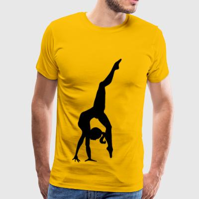Mia the dancer - Men's Premium T-Shirt
