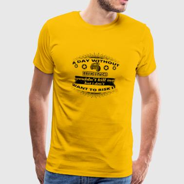 DAY WITHOUT TAG OHNE HOBBY Motorrad oldtimer png - Männer Premium T-Shirt