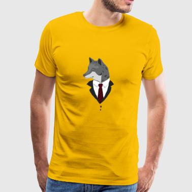 FORMAL WOLF / GIFT - Premium T-skjorte for menn