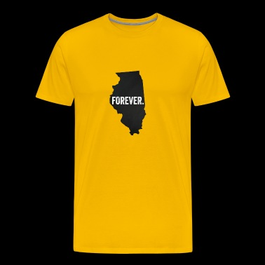 Forever Illinois - Men's Premium T-Shirt