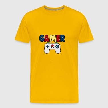 Gamer console - Men's Premium T-Shirt