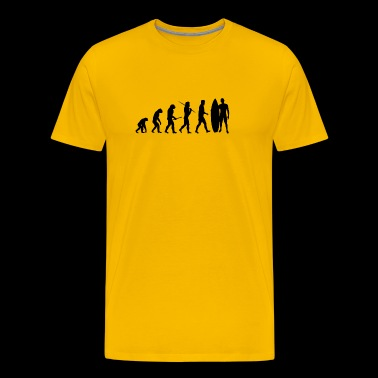 Evolution Surfing Gift - Men's Premium T-Shirt