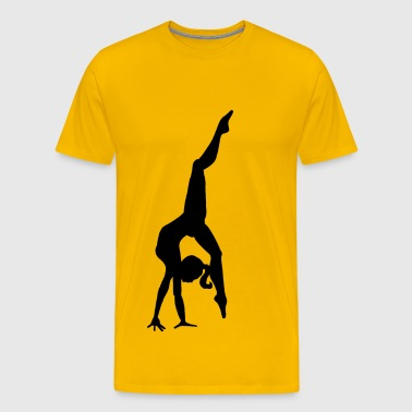 Mia dancer - Premium-T-shirt herr