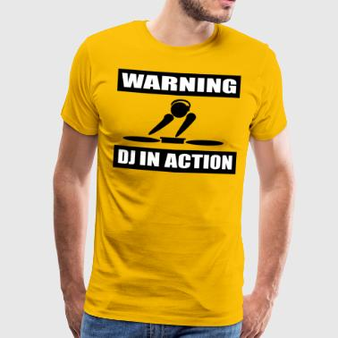 DJ ACTION - Men's Premium T-Shirt