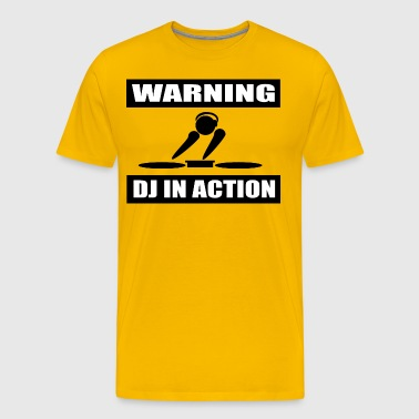 DJ ACTION - Premium-T-shirt herr