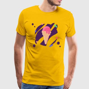 Pop Art Cone - Mannen Premium T-shirt