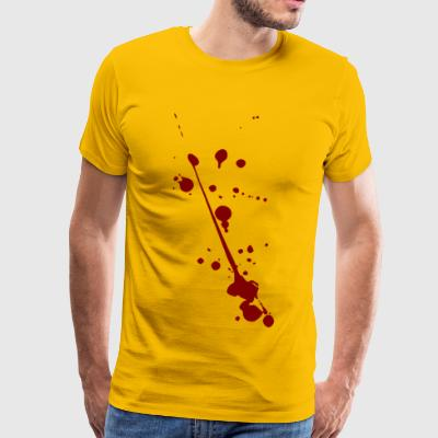 Blood on Halloween - Men's Premium T-Shirt