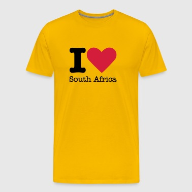 I Love South Africa - Mannen Premium T-shirt
