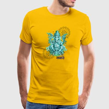 Ganesh for fortune - Men's Premium T-Shirt