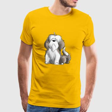 Je Suis Bearded Collie - fauve - T-shirt Premium Homme