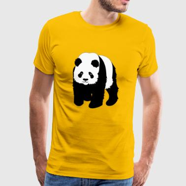 Panda panda bear - Men's Premium T-Shirt