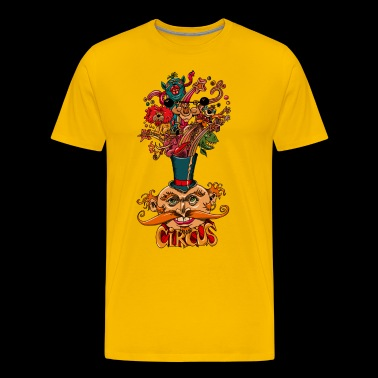 the circus - Men's Premium T-Shirt