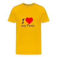 I Love My Penis T Shirt