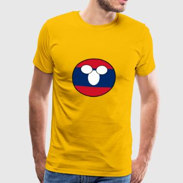 Countryball Country Home Laos - Men's Premium T-Shirt
