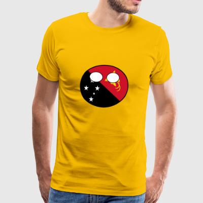Countryball Country Homeland Papua New Guinea - Men's Premium T-Shirt