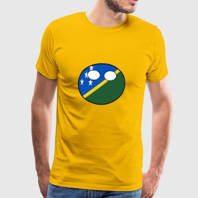 Countryball Country Home Solomon Islands - Men's Premium T-Shirt