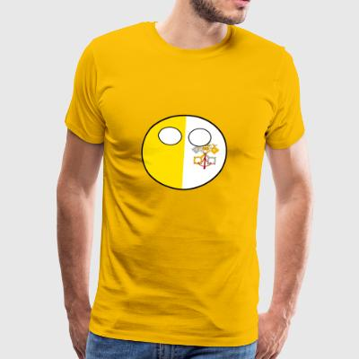 Countryball Country home Vatican City - Men's Premium T-Shirt