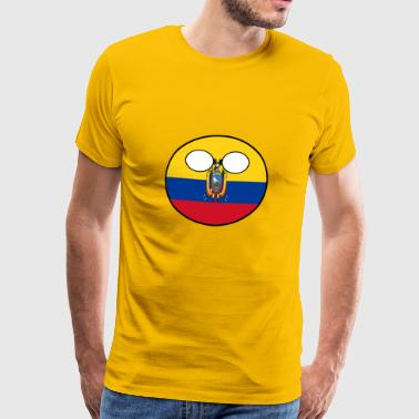 Countryball Country Home Ecuador - Men's Premium T-Shirt