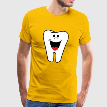 Tooth / teeth / children / white / gift / child - Men's Premium T-Shirt